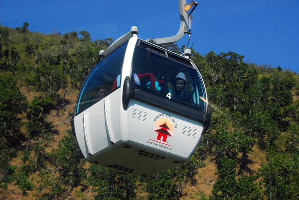 Austrian-engineered Manakamana Cable Car climbs 1000m in 2.8 km