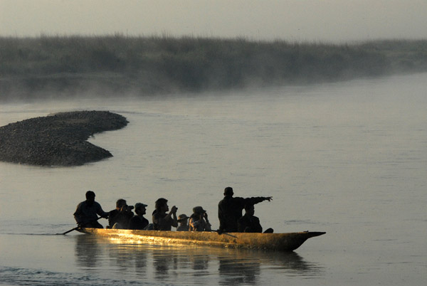 Naturalist-guided canoe trips on the Rapti River are popular ways to see Chitwan National Park