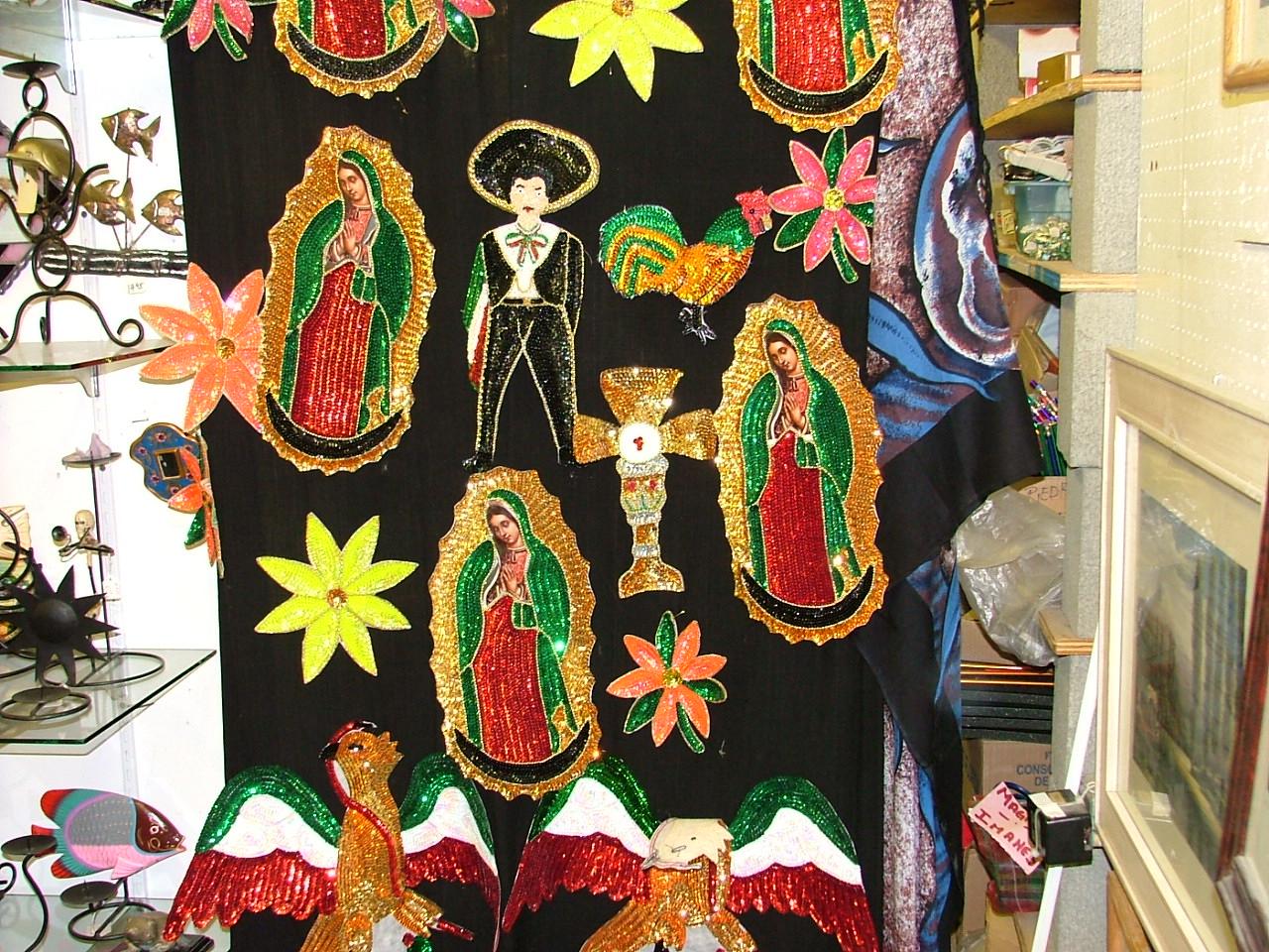 Glitter Virgen de Guadalupes