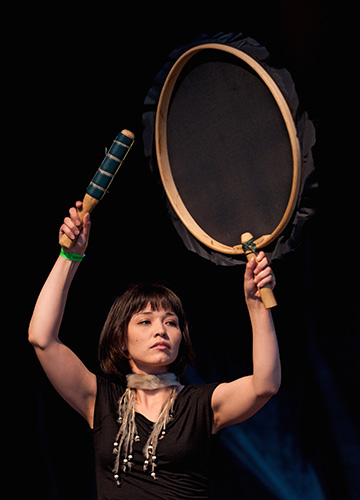 Charlotte Qamaniq-Mason of Tumivut at Westfest