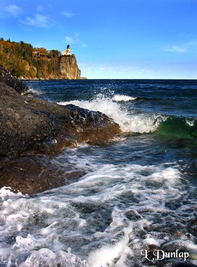 36 - Split Rock Lighthouse Waves One
