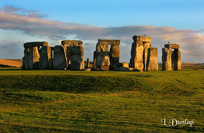 Stonehenge, Evening Light