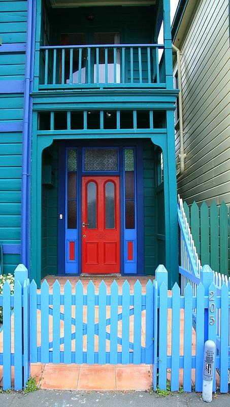 Napier doorway.