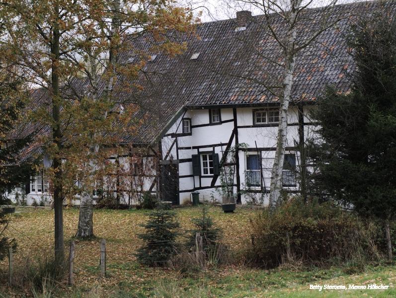 Mechelen - vakwerk woning