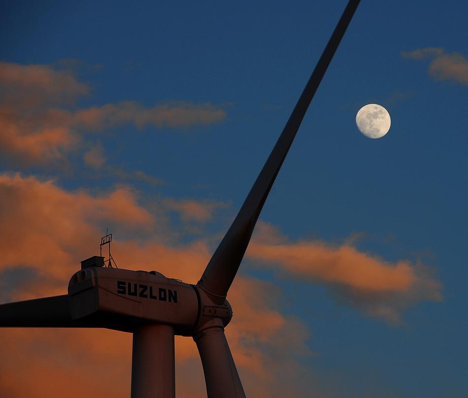 Moon & Windmill
