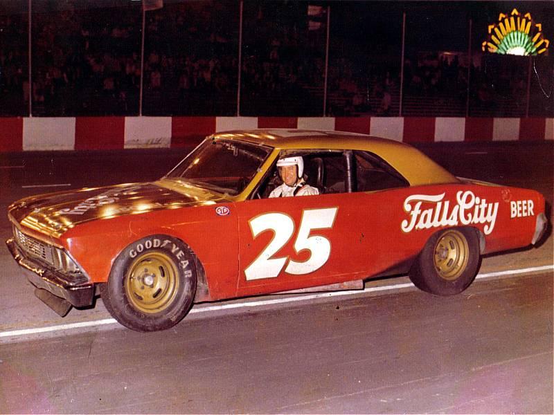 Charlie Binkley 25 Falls City 1966 Chevelle