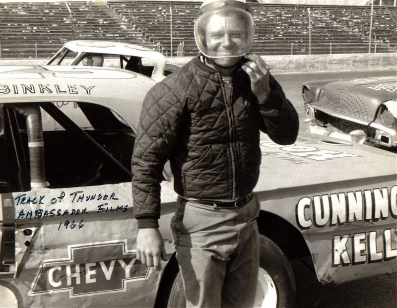 Charlie Binkley in the Track of Thunder movie. 1966