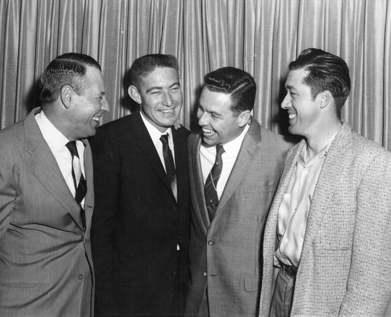 Bond, Roberts, Reuther, and Brady.