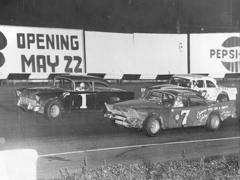 1965 Donnie Allison, Bob Burcham, and Red Farmer. Huntsville, Alabama