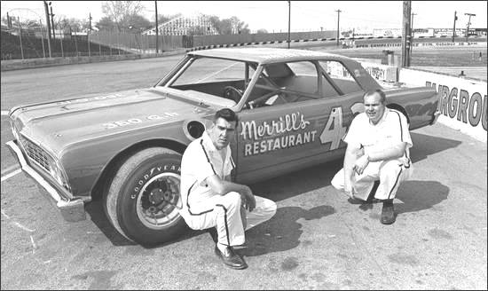 Walter Wallace and Charlie McGee 1967