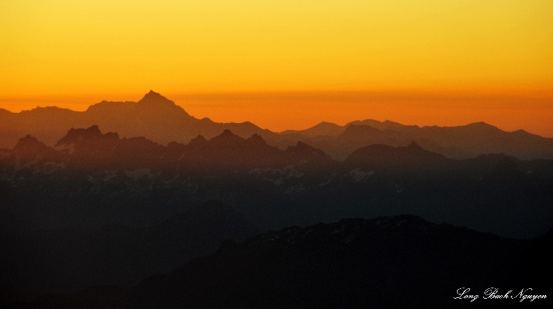 Mt Stuart at sunrise
