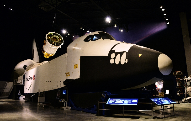 Space Shuttle Trainer, Museum of Flight, Seattle