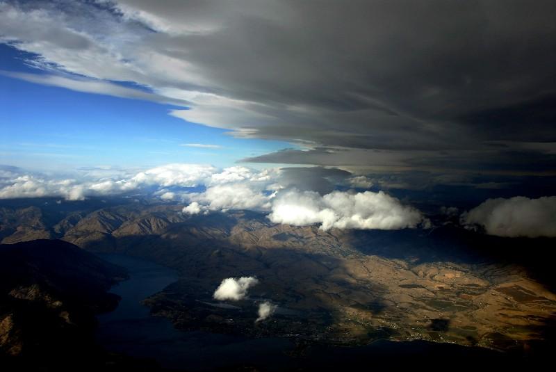 angry sky over Chelan