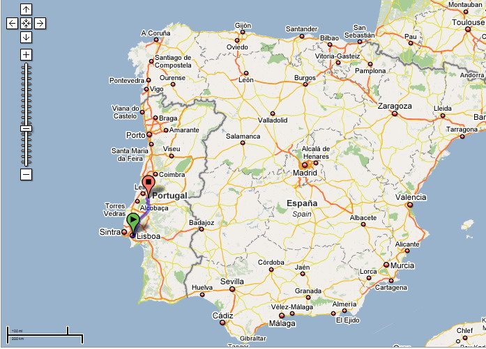 Travel From Lisbon To Fatima Portugal Photo LeSon Photography - Portugal map fatima