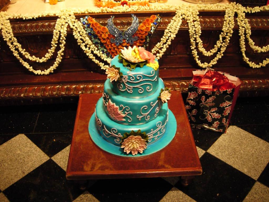 Lila Katha Radhastami Cake