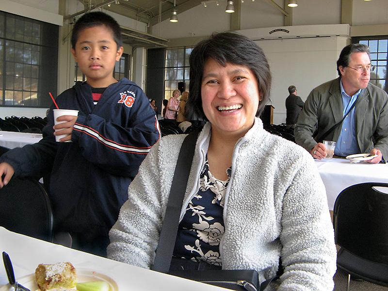 Edith and son