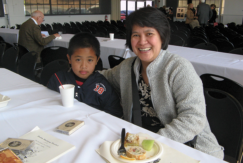 Edith and son, #2