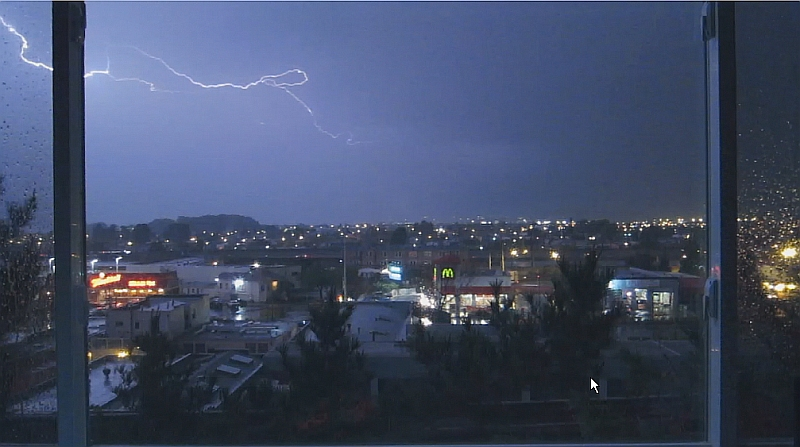 From a downsized video to catch the mild lightning