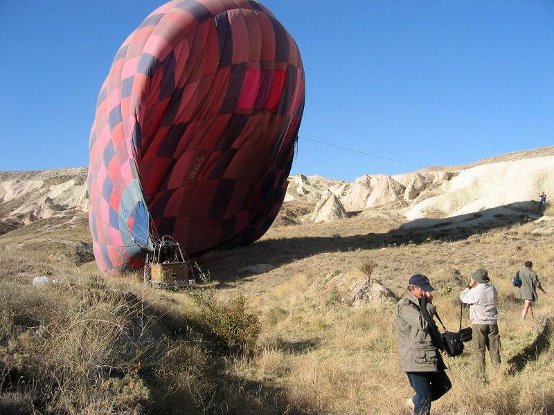 Collapsing the balloon
