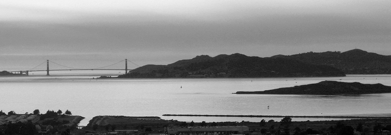 Bay in B&W