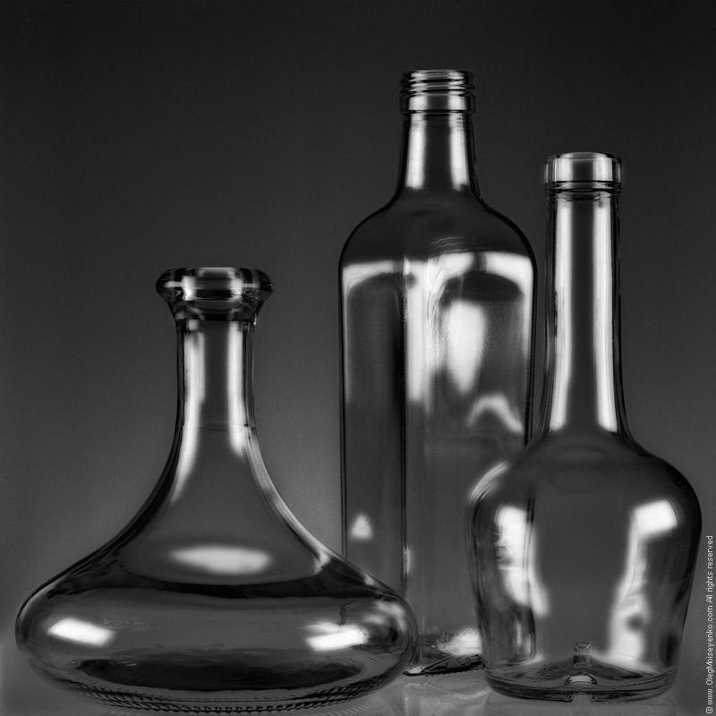 Ebony Glass I