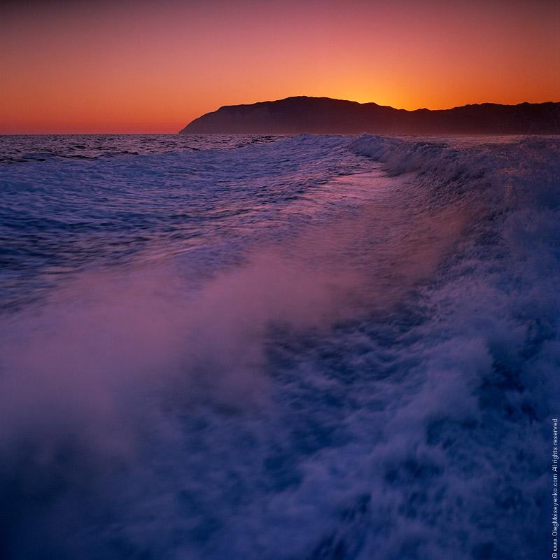 Leaving St.Catalina Island, CA