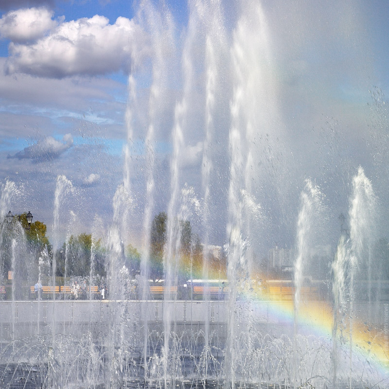 Dancing Fountain, Moscow