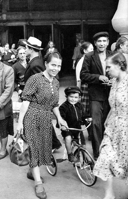 First Bike, Moscow, USSR, 1954