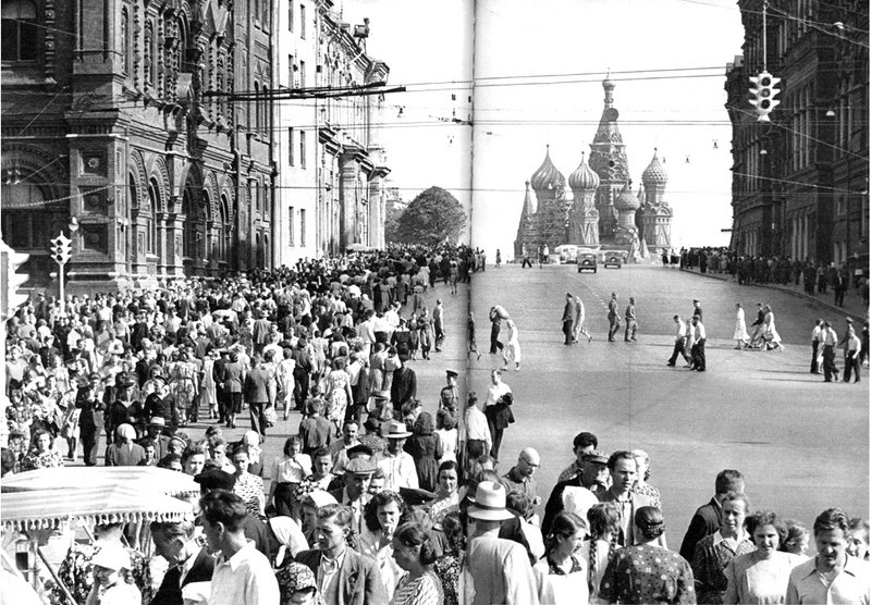 Red Square, Moscow, USSR, 1954