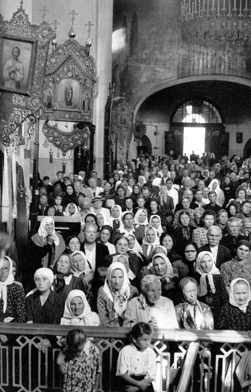 Sokolniki church, Moscow, USSR, 1954
