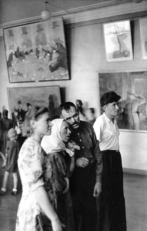Tretyakovsky Art Gallery, Moscow, USSR, 1954