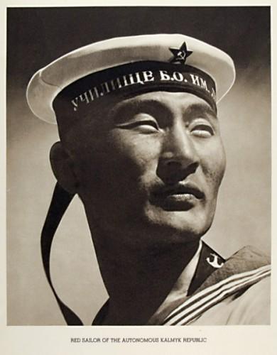 Margaret Bourke-White /1904-1971/: Red Sailor of the Autonomous Kalmyk Republic, USSR, nd but c. 1941