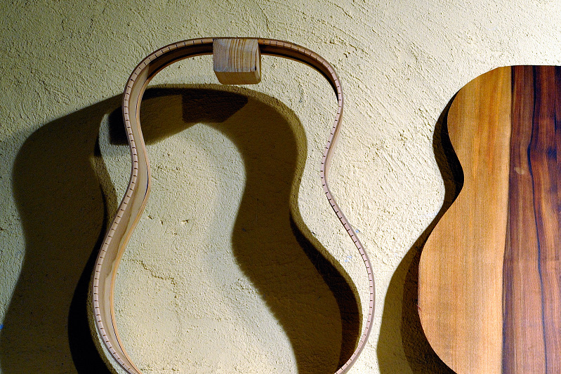 Birth of a guitar ~*