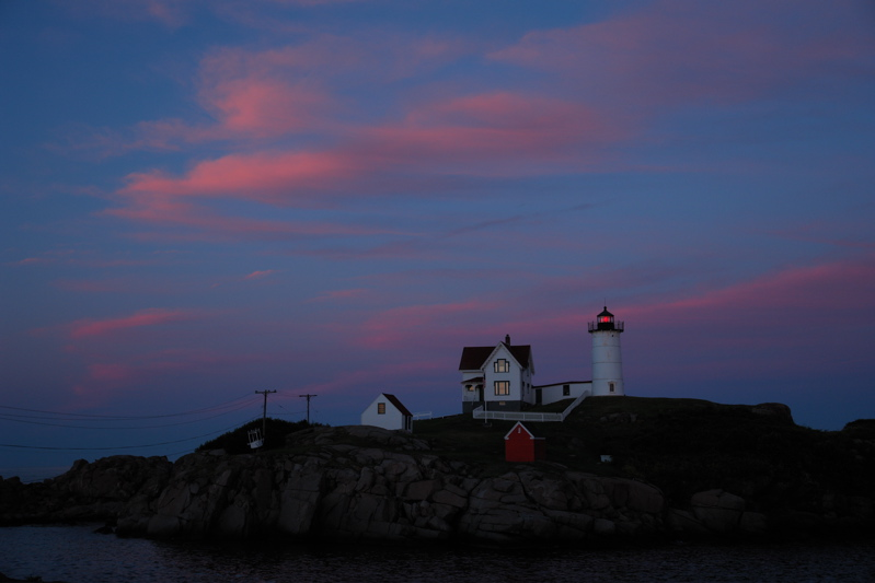 2308!a last image...  NUBBLE LIGHT, maine... please comment on this or last nights pad image, also