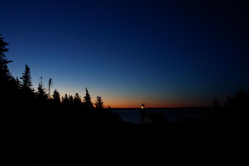 DSC08562.jpg Dawns first lights.... Quaddy light house... Lubec, easternmost miane