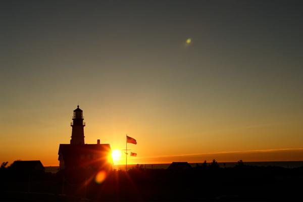 SEPTEMBER 11th... PORTLAND HEAD LIGHT ... a new dawn