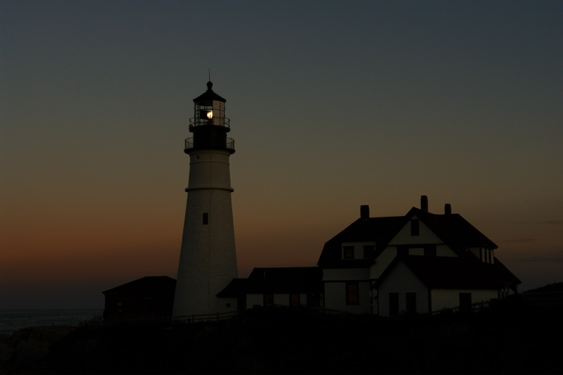 DSC09924.jpg NIGHT COMES... portland head light by donald verger... all hand held, no photoshop