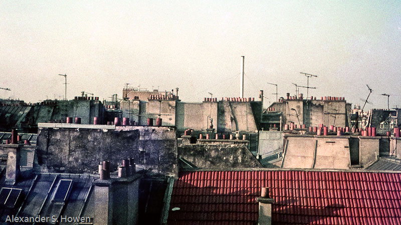 Les toits de Paris (Paris rooftops)