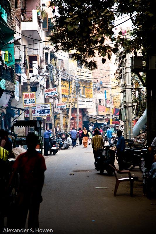 Suburban northern New Delhi