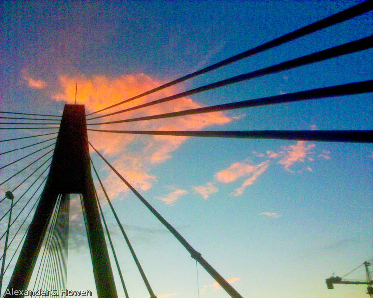 Anzac Bridge sunset 2