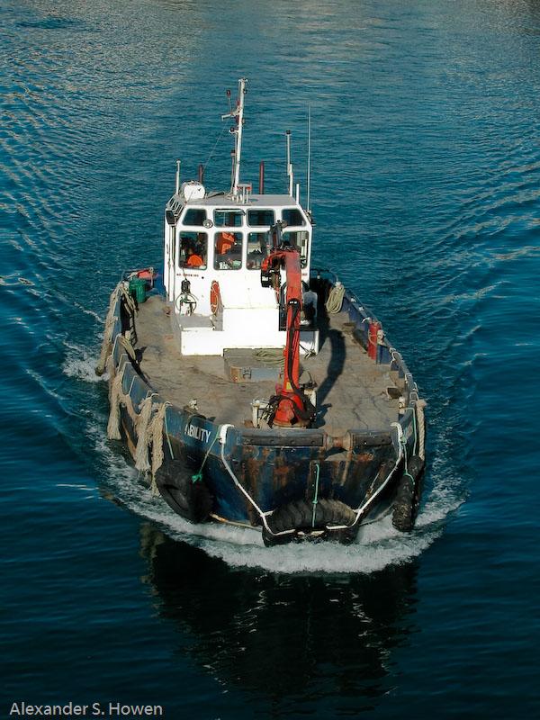 25 June - working harbour