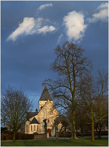 Sint Katarina Humelgem - A few bright clouds