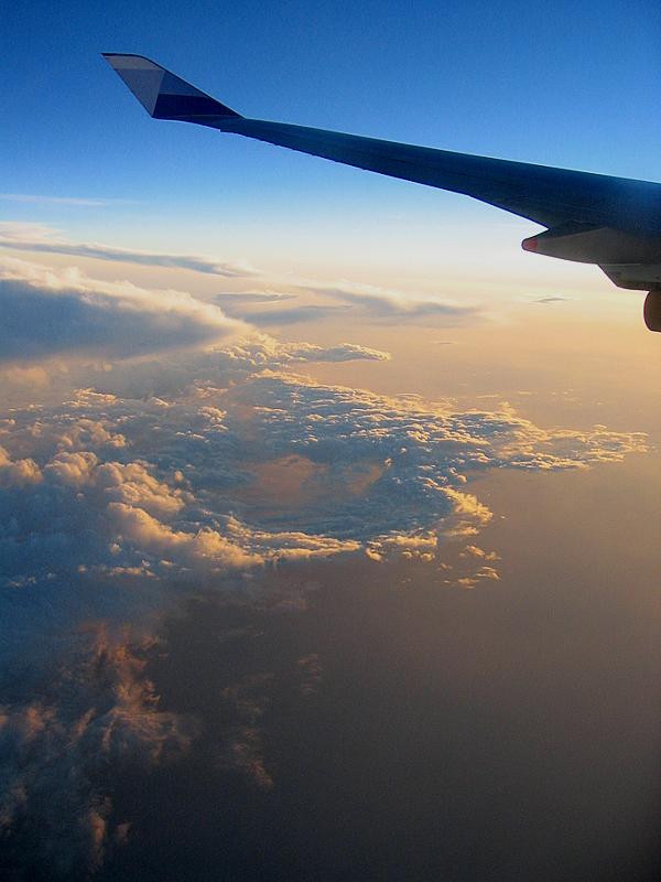 Sunrise at 30.000 feet