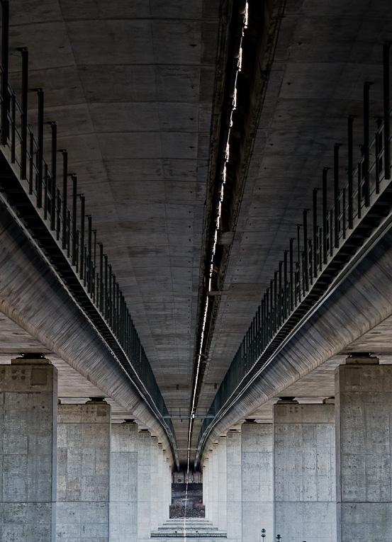 Under the Raymond E. Baldwin Bridge #2