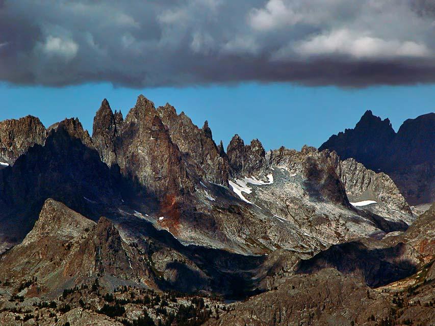 The Minarettes, about 13000 ft (3962m)