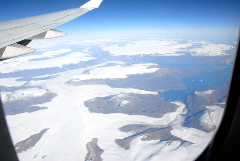 39,000 Over Greenland, looking North