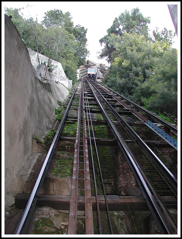 Old Ascensor (Elevator) Tracks