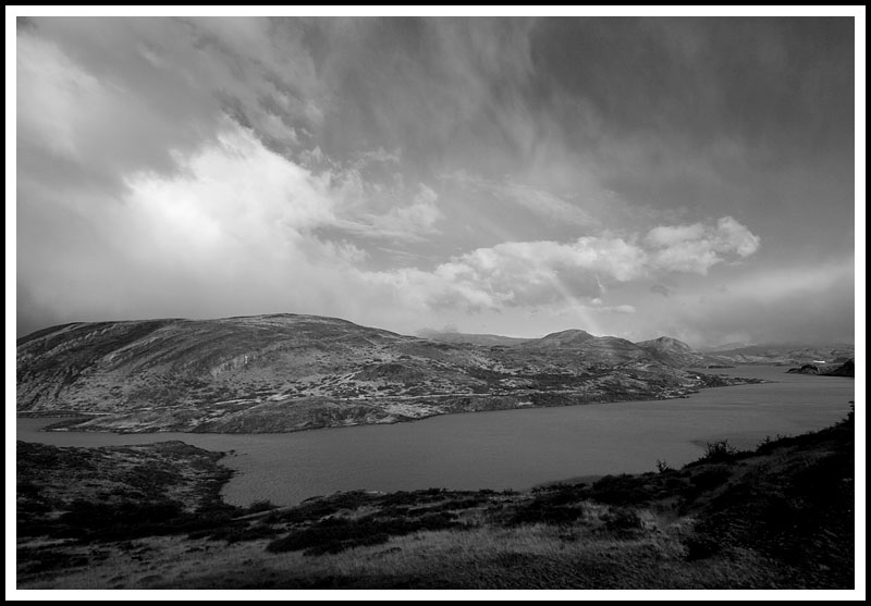 Patagonia: Rainbow in Black and White