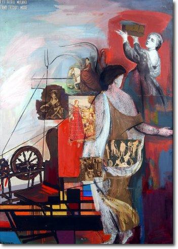 Pannello XXI Fiera Milano (1940)