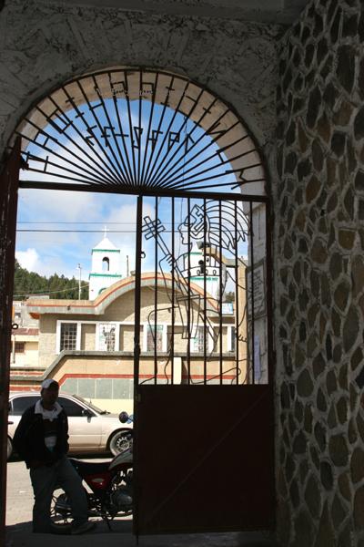 Vista desde el Interior de la Municipalidad